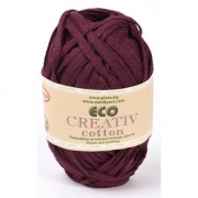 eco creative cotton bordo